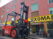 Easy Operated 3.5ton Diesel Forklift Truck With 2 Stage 3 Meter Lifting Mast