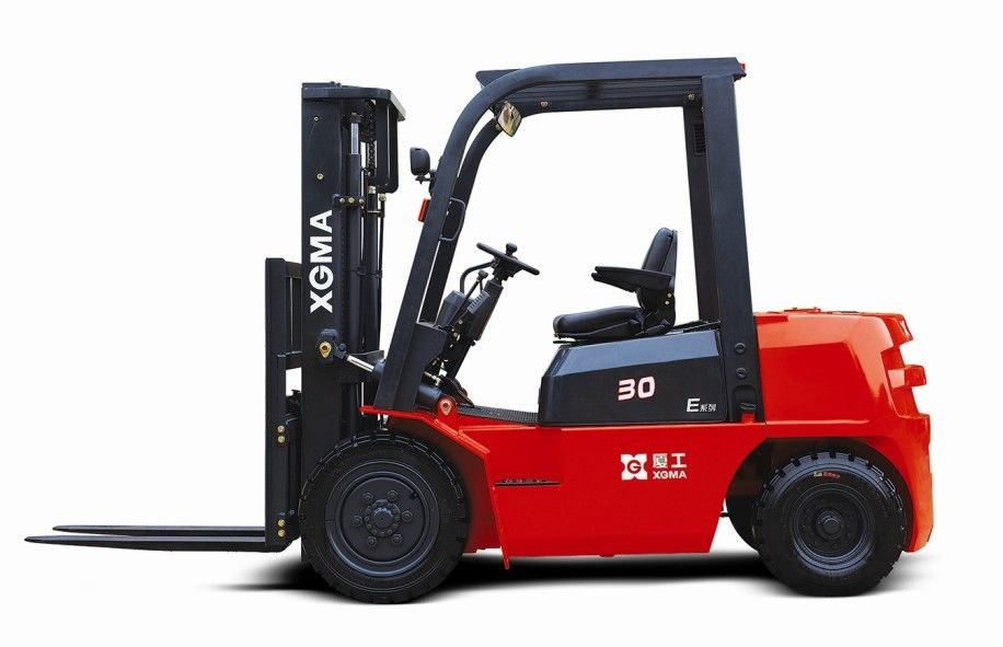 Diesel Powered Forklift Warehouse Lift Truck 3m Max Lifting Height With Low Noise