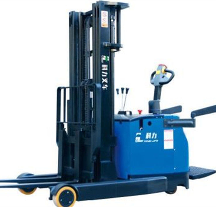 1 Year Warranty Electric Stacker Truck 6m High Lifting Height Safe Operation