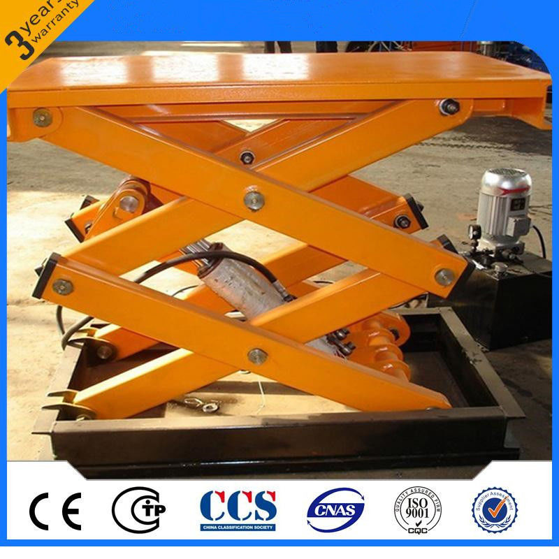 Multifunctional Electric Scissor Lift With Fixed Hydraulic Lift Table