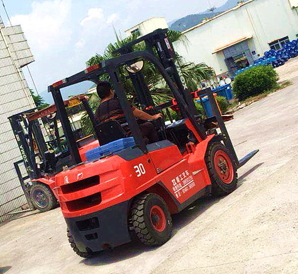 Larger Torque 3T Internal Combustion Forklift Full Hydraulic Steering System